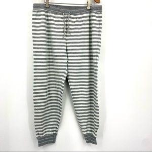 Tommy Hilfiger striped jogger lounge pants XL